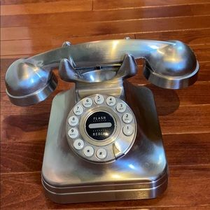 Pottery Barn Phone in Brushed Nickel
